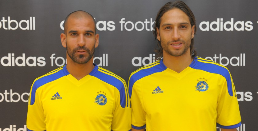 5bc9464860 Israel s football champions and sports giant Adidas launch Maccabi Tel Aviv  FC s official kit for the 2014 15 season