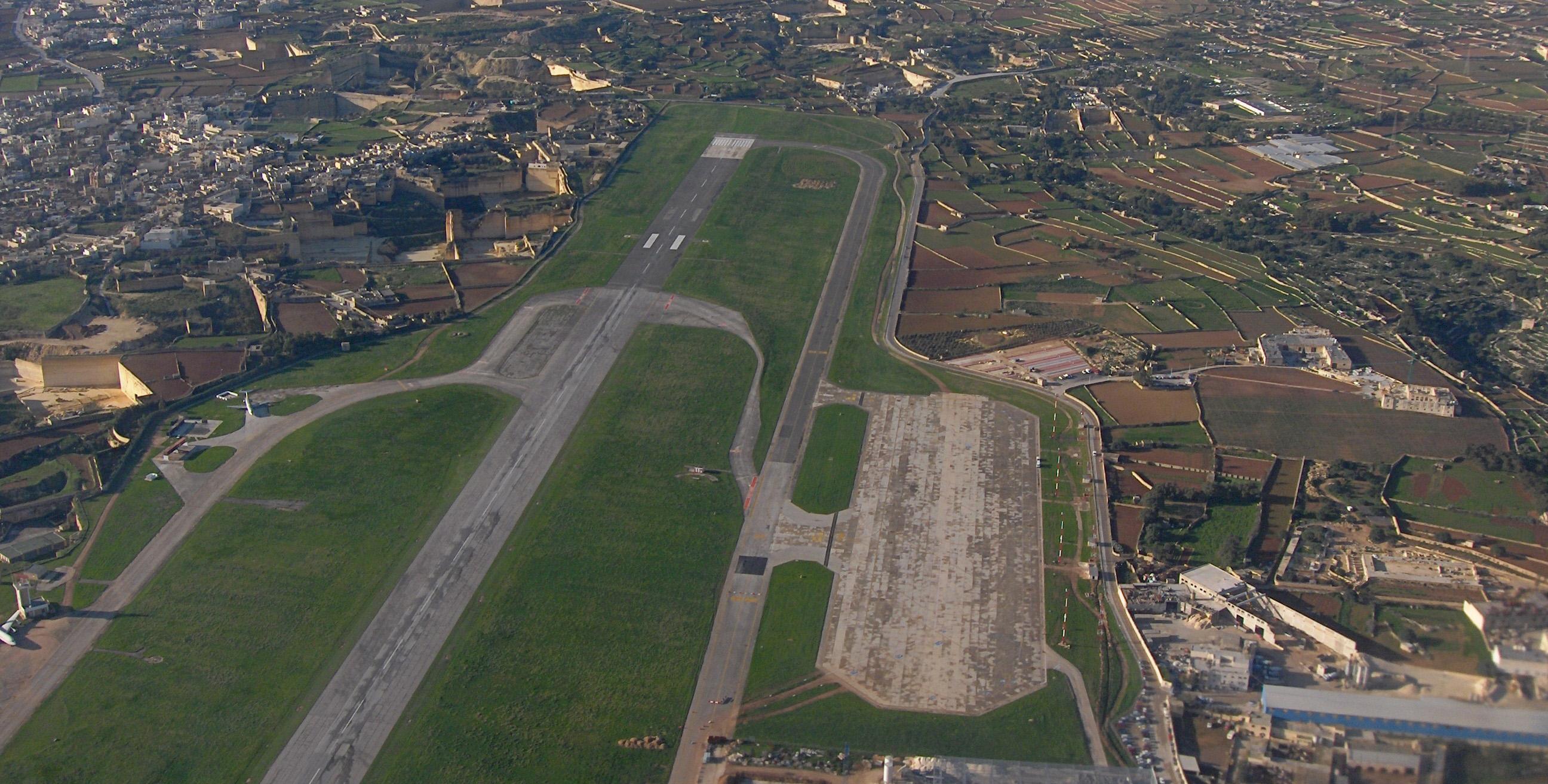 MALTA AIRPORT - Credit: John Haslam