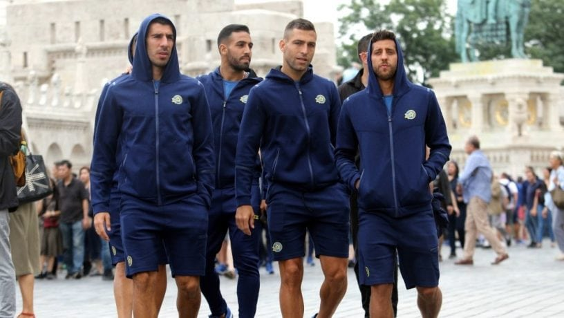 Maccabi in Budapest  Tonight: Final Training Session ahead