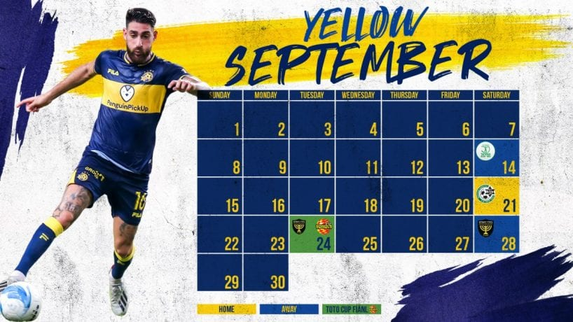 Yellow September: What to expect this month - Maccabi Tel